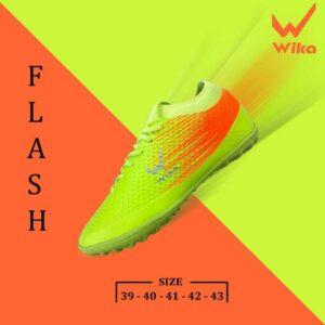 giay-da-bong-wika-flash-xanh-chuối-1